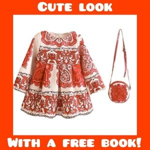 Girls Boutique Dress And Purse